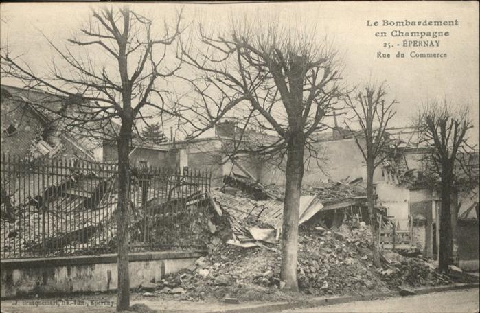 Epernay Rue du Commerce / Epernay /Arrond. d Epernay