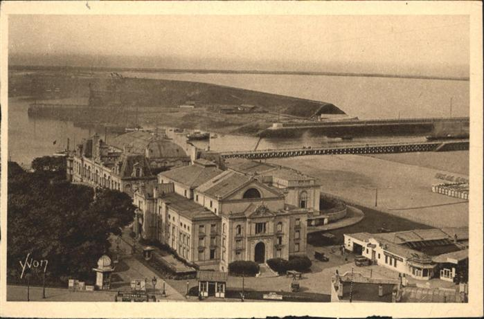 Boulogne-sur-Mer le Casino Municipal les Jetees / Boulogne-sur-Mer /Arrond. de Boulogne-sur-Mer