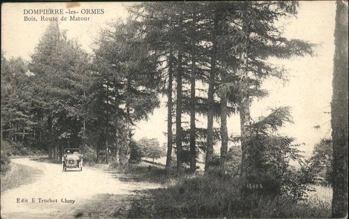 Dompierre-les-Ormes Route de Matour / Dompierre-les-Ormes /Arrond. de Macon