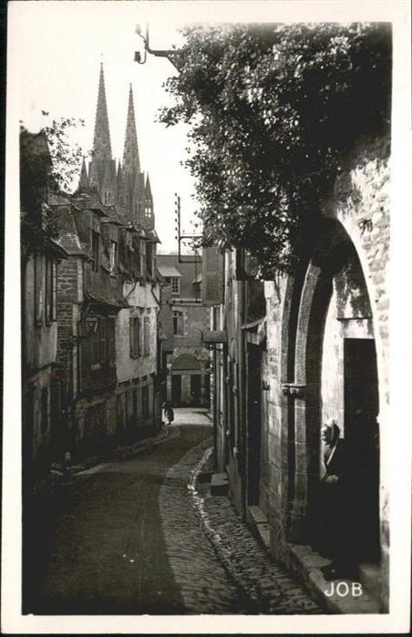 Quimper Rue du Lycee