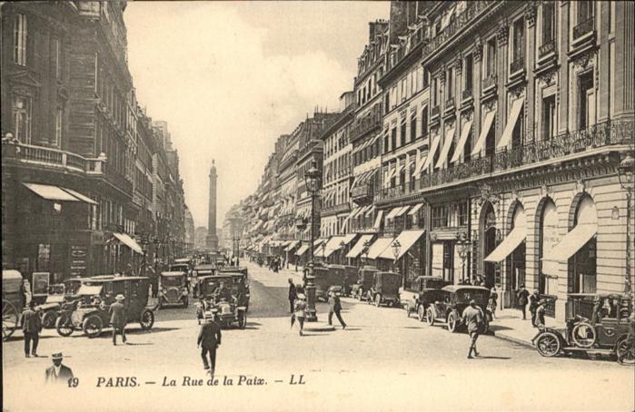 Paris Rue de la Paix / Paris /Arrond. de Paris