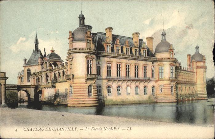 Chantilly Chateau de Chantilly / Chantilly /Arrond. de Senlis