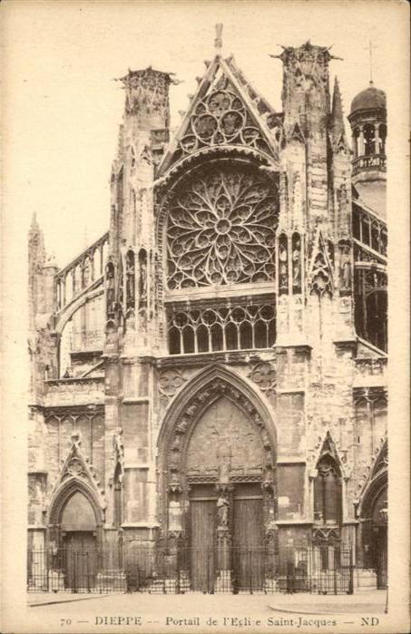 Dieppe Seine-Maritime Eglise Saint Jacques / Dieppe /Arrond. de Dieppe