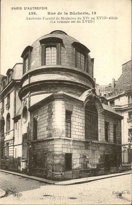 Paris Rue de la Bucherie / Paris /Arrond. de Paris