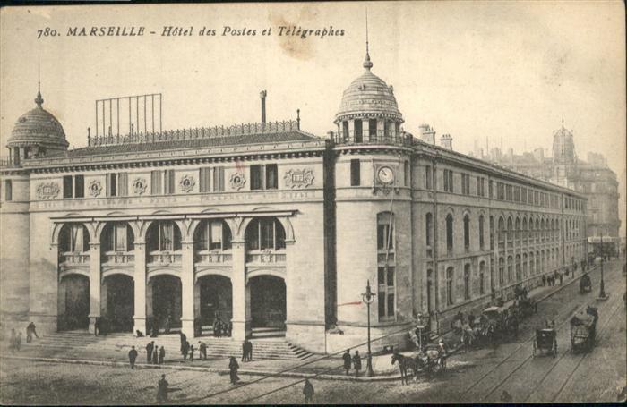 Marseille Hotel des Postes et Telegraphes / Marseille /Arrond. de Marseille