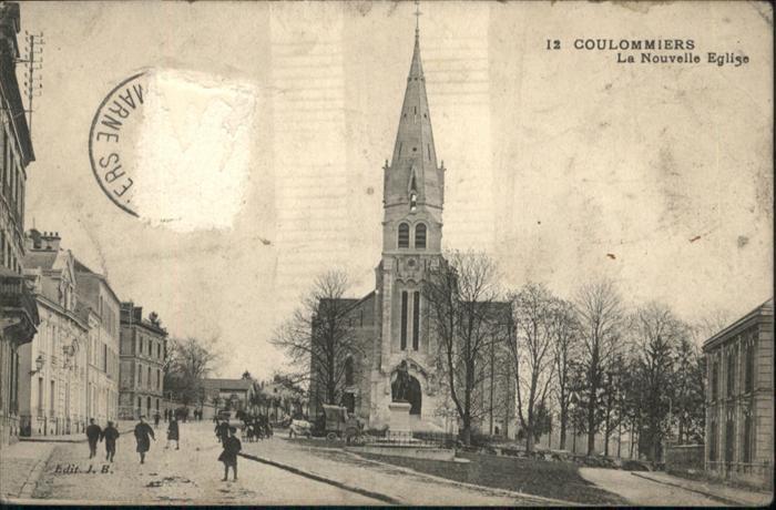 Coulommiers Nouvelle Eglise / Coulommiers /Arrond. de Meaux