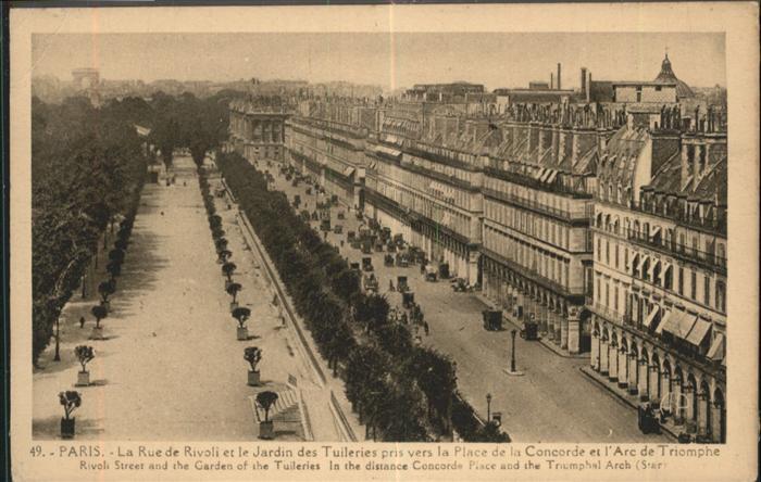 Paris Rue de Rivoli / Paris /Arrond. de Paris