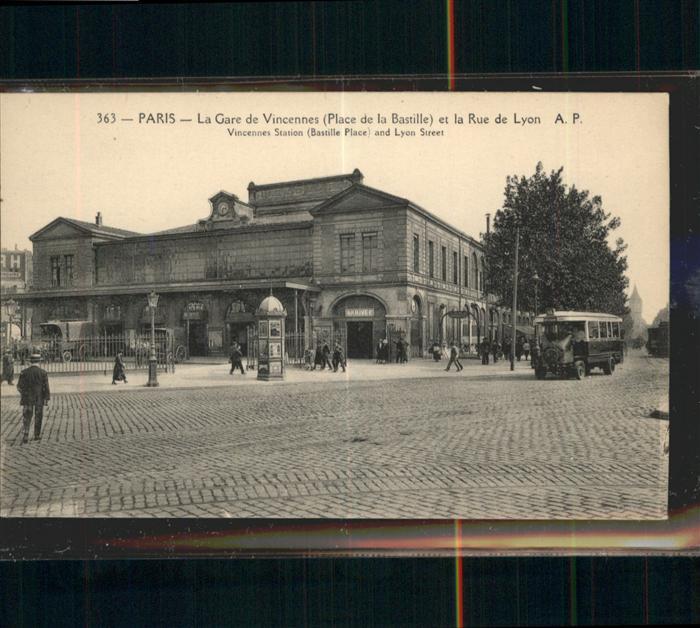 Paris Gare de Vincennes Place de la Bastille / Paris /Arrond. de Paris