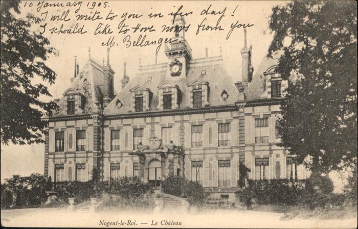 Nogent-le-Roi Chateau / Nogent-le-Roi /Arrond. de Dreux