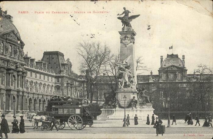 Paris Place du Carrousel / Paris /Arrond. de Paris