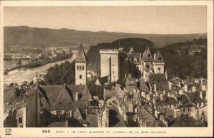 Pau Vieux Quartier du Chateau Parc National / Pau /Arrond. de Pau
