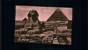 Le Caire Sphinx Pyramides / Le Caire /Arrond. de Forcalquier