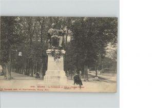Bourg-en-Bresse Statue Edgar Quinet / Bourg-en-Bresse /Arrond. de Bourg-en-Bresse
