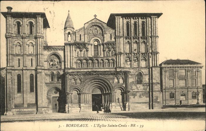 Bordeaux Eglise Sainte-Croix / Bordeaux /Arrond. de Bordeaux