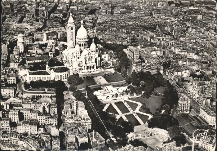 Paris Basilique du Sacre-Coeur Montmartre / Paris /Arrond. de Paris