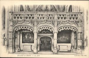 Brou Eglise le Jube / Brou /Arrond. de Chateaudun