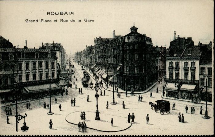 Foyer Grand Rue Roubaix : Ak roubaix banque de france et place la liberté jour