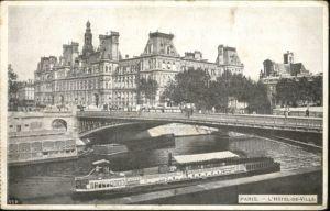 Paris Paris Schiff Hotel de Ville x / Paris /Arrond. de Paris