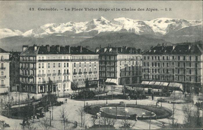 Grenoble Grenoble Place Victor Hugo  * / Grenoble /Arrond. de Grenoble