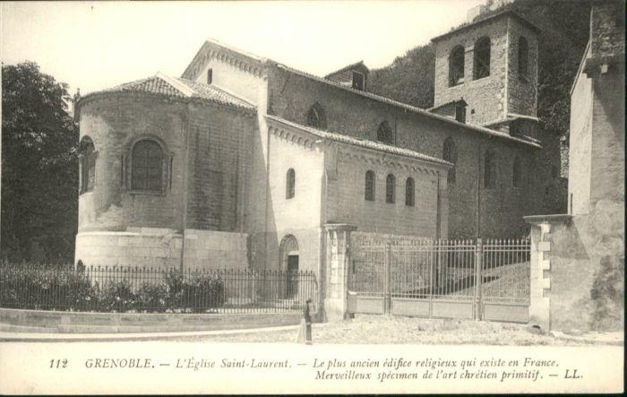 Grenoble Grenoble Eglise Saint-Laurent Kirche * / Grenoble /Arrond. de Grenoble