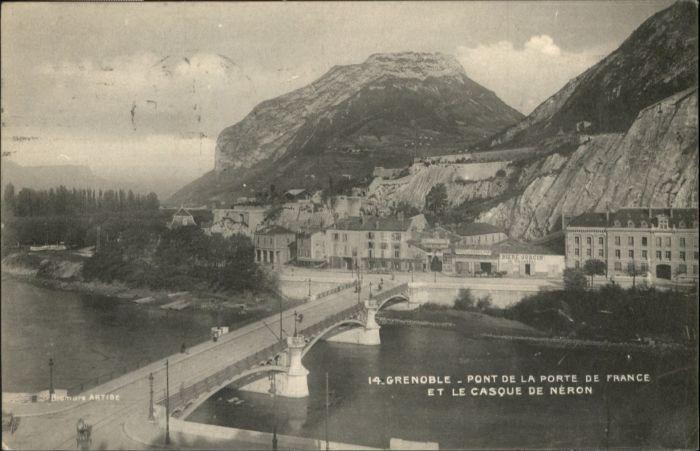 Grenoble Grenoble Pont Porte Casque Neron x / Grenoble /Arrond. de Grenoble