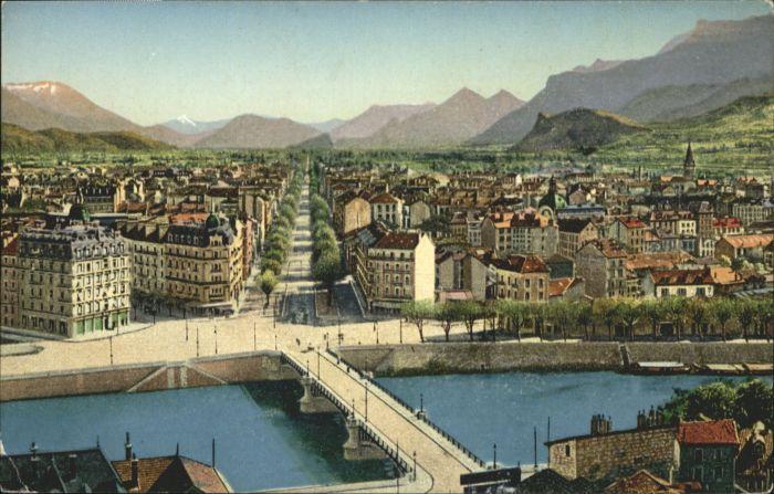 Grenoble Grenoble Place Bastille Cours St. Andre * / Grenoble /Arrond. de Grenoble