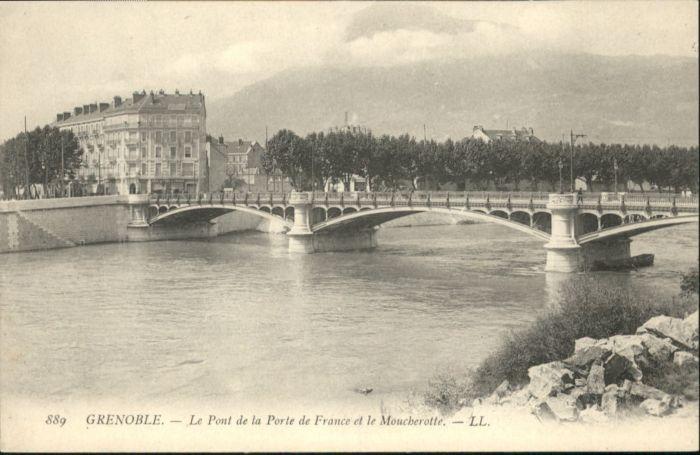 Grenoble Grenoble Pont Porte Moucherotte * / Grenoble /Arrond. de Grenoble