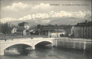 Grenoble Grenoble Citadelle Chaine Alpes * / Grenoble /Arrond. de Grenoble