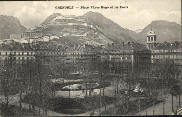 Grenoble Grenoble Place Victor Hugo Forts * / Grenoble /Arrond. de Grenoble