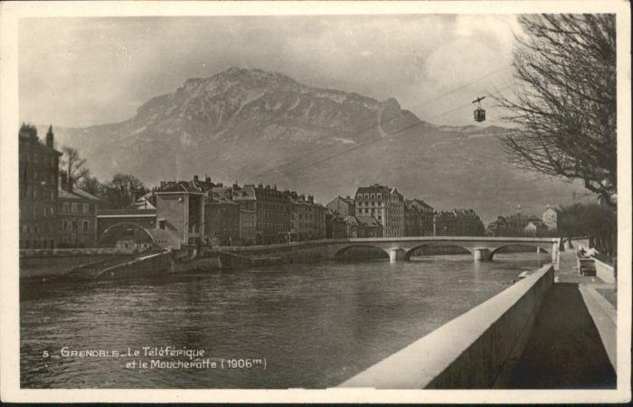 Grenoble Grenoble Teleferique Moucherotte * / Grenoble /Arrond. de Grenoble