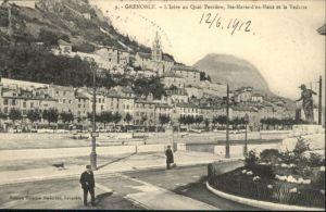 Grenoble Grenoble Isere Quai Perriere Ste-Marie-d'en-Haut Vedette x / Grenoble /Arrond. de Grenoble