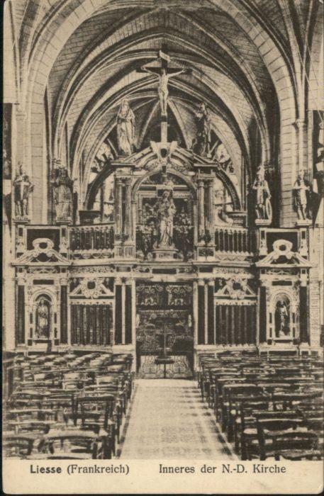 Liesse-Notre-Dame Liesse-Notre-Dame Kirche * / Liesse-Notre-Dame /Arrond. de Laon