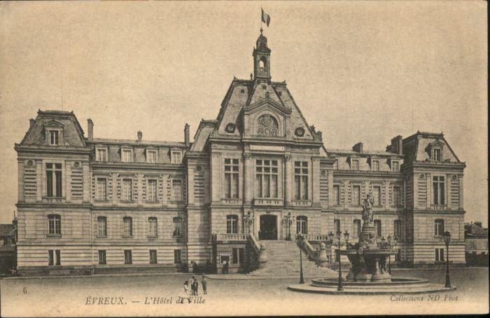 Evreux Evreux Hotel de Ville * / Evreux /Arrond. d Evreux