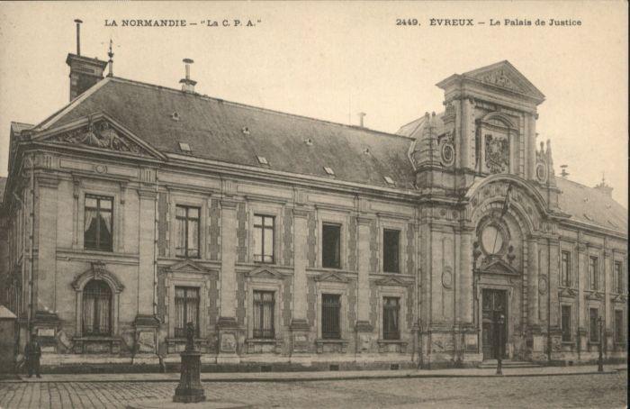 Evreux Evreux Palais Justice Justiz * / Evreux /Arrond. d Evreux