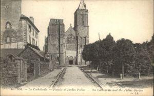 Dol-de-Bretagne Dol-de-Bretagne Cathedrale Jardin Public * / Dol-de-Bretagne /Arrond. de Saint-Malo