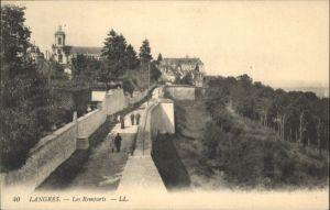 Langres Langres Remparts * / Langres /Arrond. de Langres