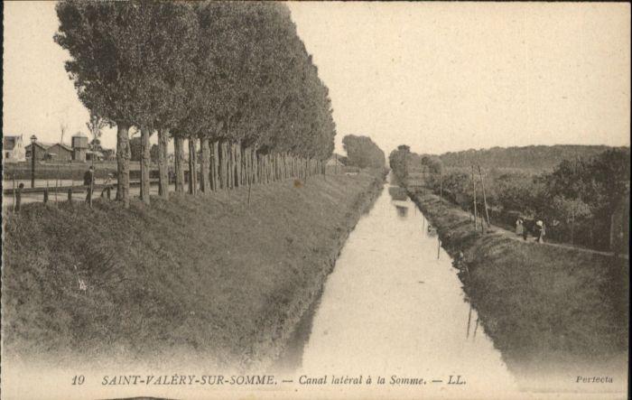 Saint-Valery-sur-Somme Saint-Valery-sur-Somme Canal Somme * / Saint-Valery-sur-Somme /Arrond. d Abbeville
