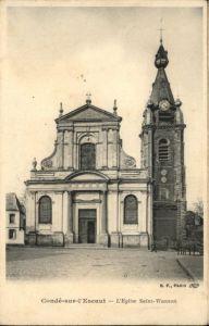Conde-sur-l Escaut Conde-sur-l'Escaut Eglise Saint-Wasnon * / Conde-sur-l Escaut /Arrond. de Valenciennes