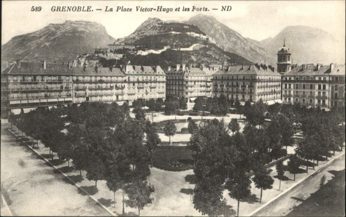 Grenoble Grenoble Place Victor-Hugo Forts * / Grenoble /Arrond. de Grenoble
