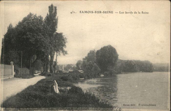 Samois-sur-Seine Samois-sur-Seine Bords Seine * / Samois-sur-Seine /Arrond. de Fontainebleau