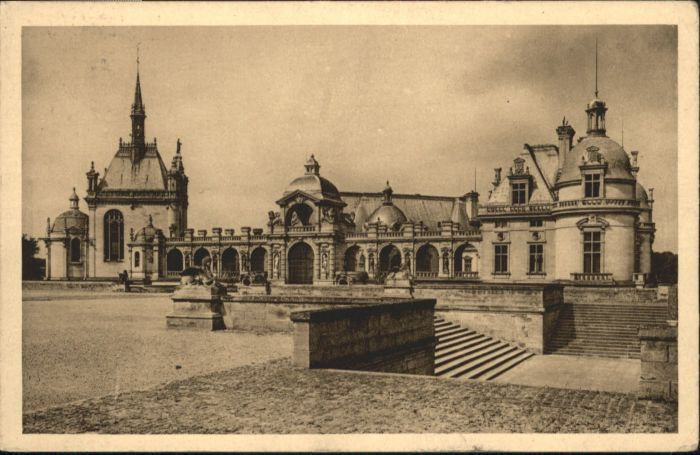 Chantilly Chantilly Chateau Chapelle x / Chantilly /Arrond. de Senlis