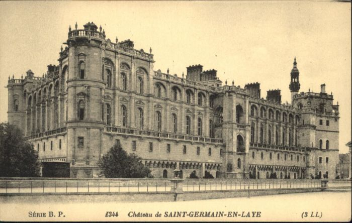 Saint-Germain-en-Laye Saint-Germain-en-Laye Chateau * / Saint-Germain-en-Laye /Arrond. de Saint-Germain-en-Laye
