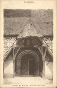 Lamballe Lamballe Eglise St. Martin Porche * / Lamballe /Arrond. de Saint-Brieuc