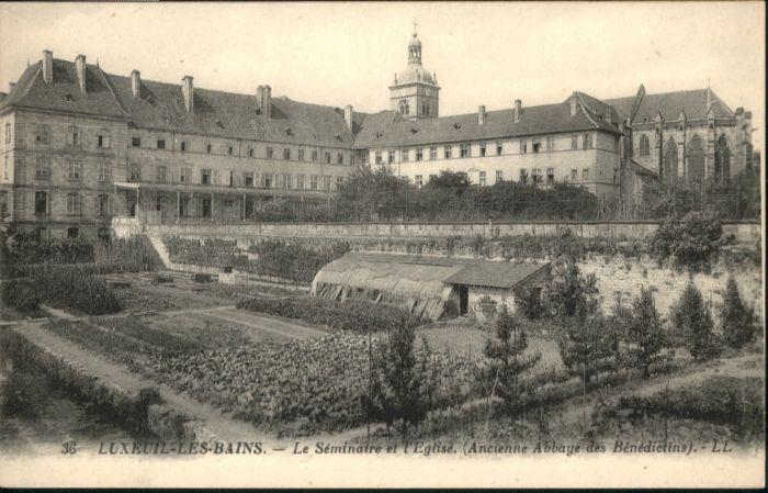 Luxeuil-les-Bains Luxeuil-les-Bains Seminaire Eglise Abbaye Benedictins * / Luxeuil-les-Bains /Arrond. de Lure