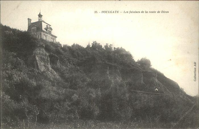 Houlgate Houlgate Falaises Route Dives * / Houlgate /Arrond. de Lisieux