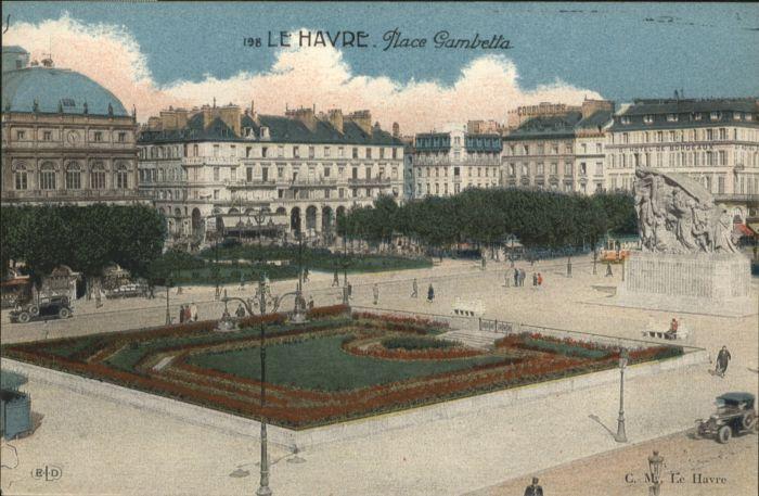 Le Havre Le Havre Place Gambetta * / Le Havre /Arrond. du Havre