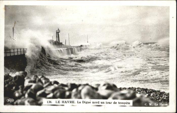 Le Havre Le Havre Digue  * / Le Havre /Arrond. du Havre