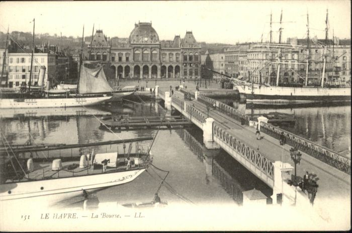 Le Havre Le Havre Bourse Boerse * / Le Havre /Arrond. du Havre