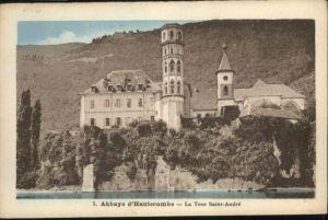 Saint-Pierre-de-Curtille Saint-Pierre-de-Curtille Abbaye Hautecombe Tour Saint-Andre * / Saint-Pierre-de-Curtille /Arrond. de Chambery