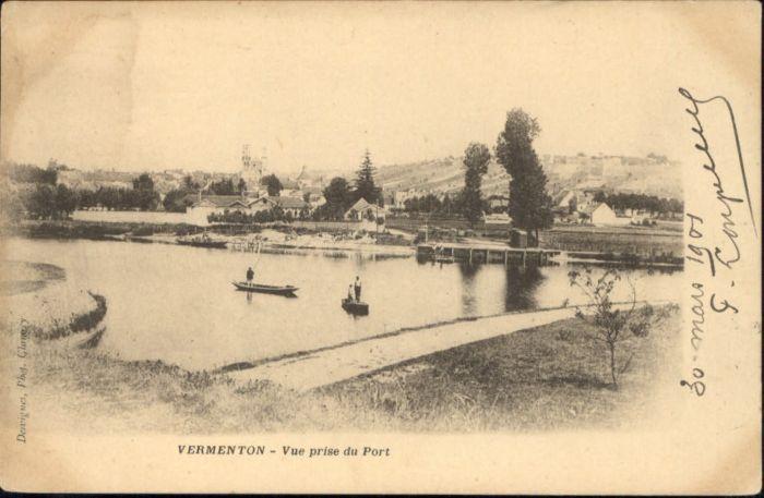 Vermenton Vermenton Port x / Vermenton /Arrond. d Auxerre